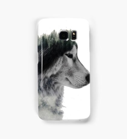 loup nature Samsung Galaxy Case/Skin