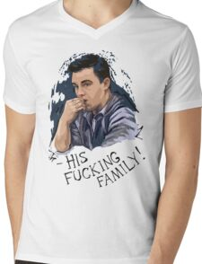 mickey milkovich Mens V-Neck T-Shirt