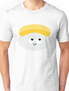 Egg Sushi Emoji Think Hard and Hmm Unisex T-Shirt