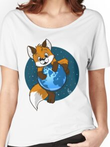 Cute Firefox Women's Relaxed Fit T-Shirt