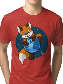 Cute Firefox Tri-blend T-Shirt