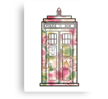 Rose TARDIS Metal Print