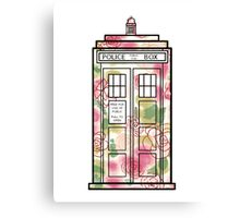 Rose TARDIS Canvas Print