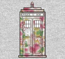 Rose TARDIS One Piece - Long Sleeve