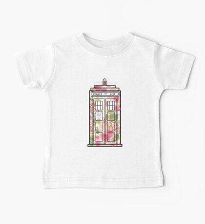 Rose TARDIS Baby Tee