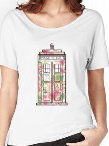 Rose TARDIS Women's Relaxed Fit T-Shirt