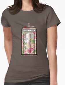 Rose TARDIS Womens Fitted T-Shirt