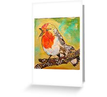 Perky Quirky Greeting Card