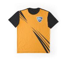 Rocket league Stripes Orange Graphic T-Shirt