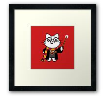 Gumdrop is Wizardkitty - Brave and Loyal! Framed Print