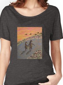 Penguin Two Step Women's Relaxed Fit T-Shirt