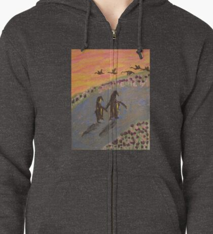 Penguin Two Step Zipped Hoodie
