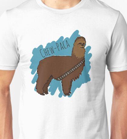 Chewbacca Alpaca Unisex T-Shirt