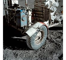 A close-up view of the lunar roving vehicle during Apollo 17 EVA. Photographic Print