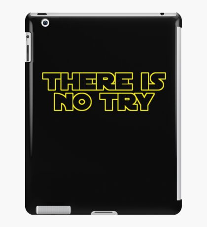 Star Wars There Is No Try iPad Case/Skin