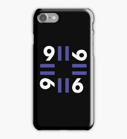 9-11 Blue iPhone Case/Skin