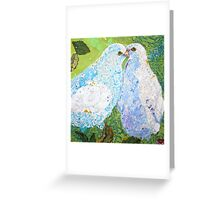 Noah's Doves Greeting Card