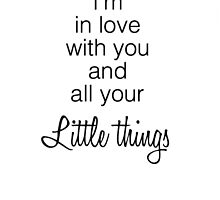 One Direction's Little Things by karefulkreation