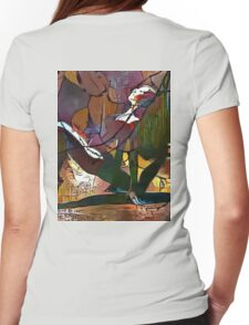 Split Open and Melt Womens Fitted T-Shirt