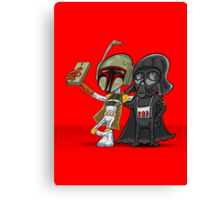 Darkside Selfie Canvas Print