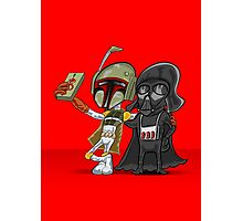 Darkside Selfie Photographic Print