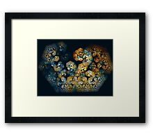 Moroccan Colours Framed Print