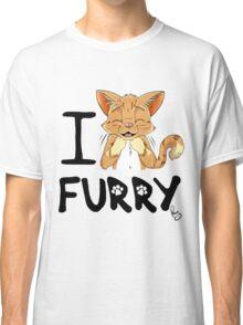 I ñawr FURRY Classic T-Shirt