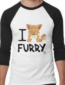 I ñawr FURRY Men's Baseball ¾ T-Shirt