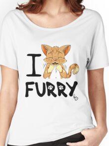 I ñawr FURRY Women's Relaxed Fit T-Shirt
