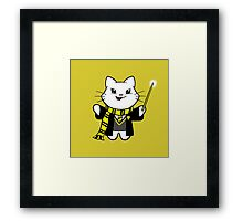 Gumdrop is Wizardkitty - Just and Loyal! Framed Print