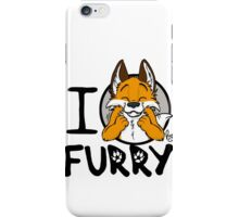 I grrarrrgh furry (fox version) iPhone Case/Skin