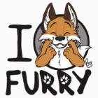 I grrarrrgh furry (fox version) by pandapaco