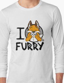 I grrarrrgh furry (fox version) Long Sleeve T-Shirt