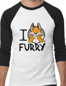 I grrarrrgh furry (fox version) Men's Baseball ¾ T-Shirt