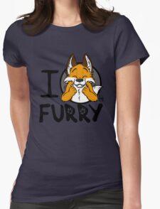 I grrarrrgh furry (fox version) Womens Fitted T-Shirt