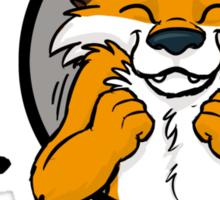 I grrarrrgh furry (fox version) Sticker