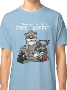 Raccoons grateful Classic T-Shirt