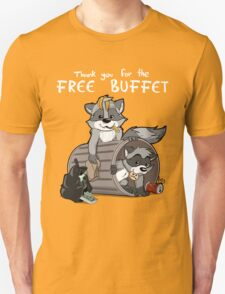 Raccoons grateful T-Shirt