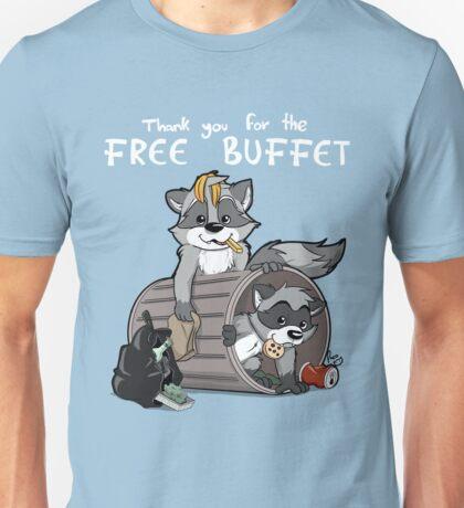 Raccoons grateful Unisex T-Shirt
