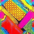 Japanese Pop pattern by Lozenga