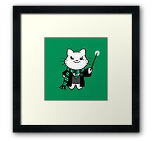 Gumdrop is Wizardkitty - Cunning Snakes! Framed Print