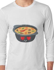 Hotpot Emoji Heart and Love Eye Long Sleeve T-Shirt