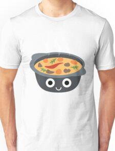 Hotpot Emoji Shock and Surprise Unisex T-Shirt