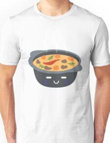 Hotpot Emoji Speechless with Sweat Unisex T-Shirt
