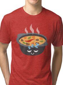 Hotpot Emoji Sleep and Dream Tri-blend T-Shirt