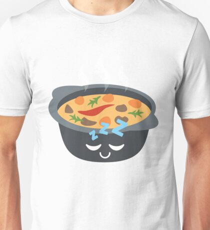 Hotpot Emoji Sleep and Dream Unisex T-Shirt