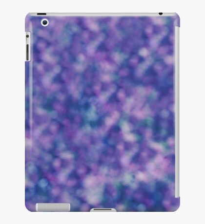 Blue Purple Pink Unique Cool Chic Pattern iPad Case/Skin