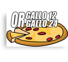 Gallo 12 or Gallo 24? Canvas Print