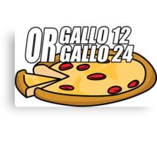 Gallo 12 or Gallo 24? Canvas Print