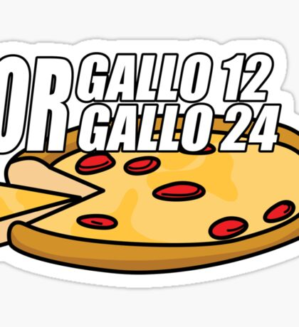 Gallo 12 or Gallo 24? Sticker